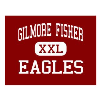 Gilmore Fisher - Eagles - centro - Trenton Postales
