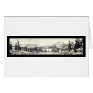 Gilmore Lake Tahoe Photo 1910 Card