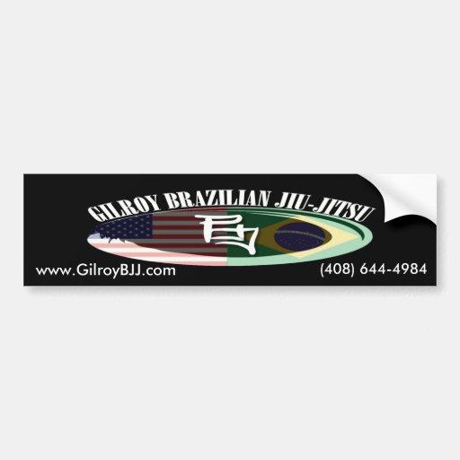 Gilroy BJJ Bumper Stickers