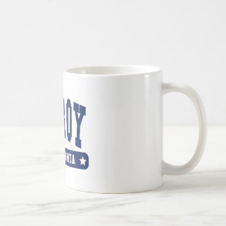Gilroy California College Style tee shirts Classic White Coffee Mug