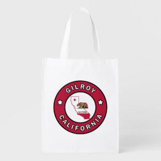 Gilroy California Reusable Grocery Bag