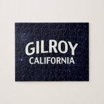 Gilroy California Rompecabeza Con Fotos