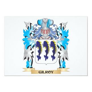 Gilroy Coat of Arms - Family Crest Card