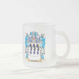 Gilroy Coat of Arms - Family Crest 10 Oz Frosted Glass Coffee Mug