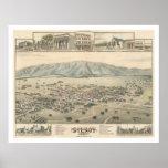 Gilroy: El condado de Santa Clara California (1299 Posters