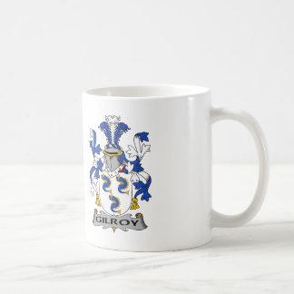 Gilroy Family Crest Classic White Coffee Mug