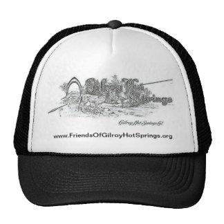 Gilroy Hot Springs cap Trucker Hat