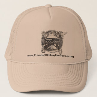Gilroy Hot Springs hat - vintage Mineral Well