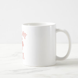 Gilroy Pink Girl Classic White Coffee Mug