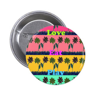 Gilry Lovely  Eat Play colors Button