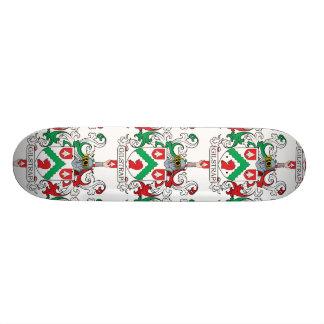 Gilstrap Family Crest Custom Skate Board