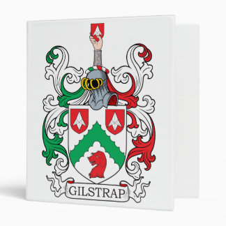 Gilstrap Family Crest Vinyl Binders