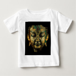 Gilt Antique Buddha Face Gifts by Sharles Baby T-Shirt