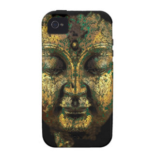 Gilt Antique Buddha Face Gifts by Sharles Vibe iPhone 4 Cover
