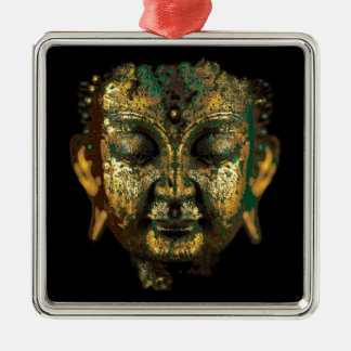 Gilt Antique Buddha Face Gifts by Sharles Metal Ornament