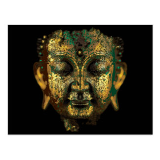 Gilt Antique Buddha Face Gifts by Sharles Postcard