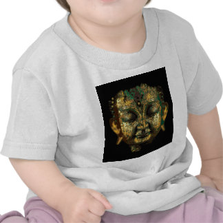 Gilt Antique Buddha Face Gifts by Sharles Tee Shirts