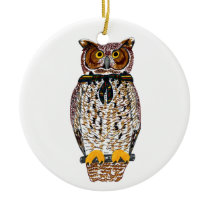 Gilwell Owl Ornament
