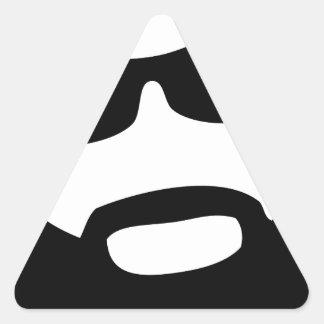 Gim Troman Pegatina Triangular