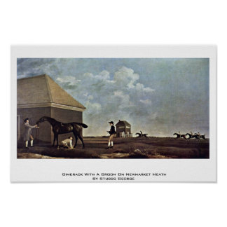 Gimcrack With A Groom On Newmarket Heath Posters