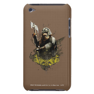 Gimli With Ax Vector Collage Barely There iPod Case