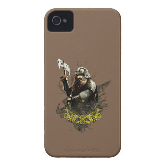 Gimli With Ax Vector Collage Case-Mate iPhone 4 Case