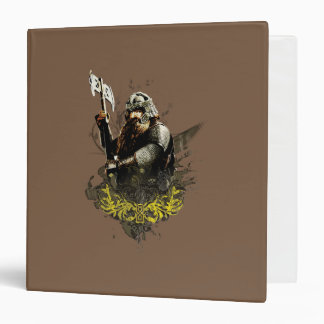 Gimli With Ax Vector Collage Vinyl Binders