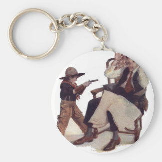 Gimme a Dime for the Movies! Keychain