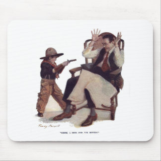 Gimme a Dime for the Movies! Mouse Pad
