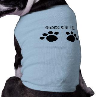 Gimme a Hi5 Doggie Ringer T-Shirt