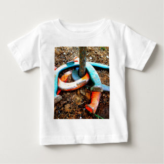 Gimme' a Ringer Horseshoe Pitching Gifts Baby T-Shirt