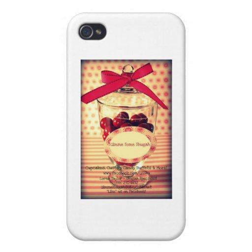 Gimme algunos artículos de la No-Ropa de Shugah iPhone 4/4S Funda