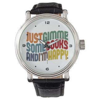 Gimme Books Reading Wrist Watch