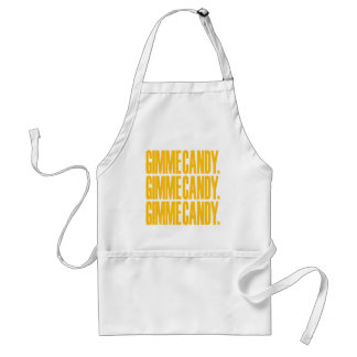 GIMME CANDY. ADULT APRON