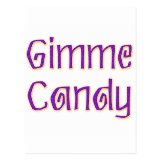 Gimme Candy Postcard