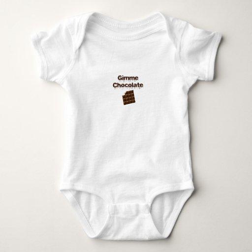 Gimme Chocolate Tshirt