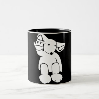 Gimme Four Ragrat Two-Tone Coffee Mug