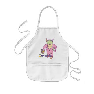 Gimme Ghoulie Chocolate Apron