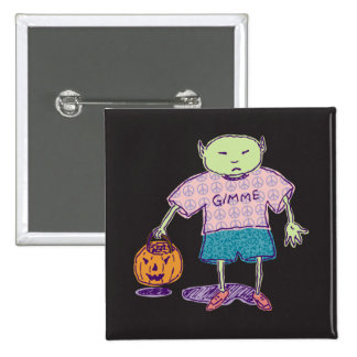 Gimme Ghoulie Square Button