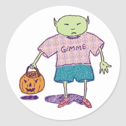 Gimme Ghoulie Stickers