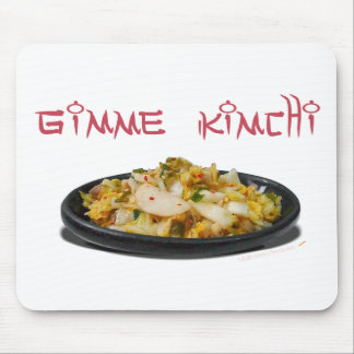 Gimme Kimchi Kimchi Lovers Mousepad or Mouse Mat