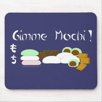 Gimme Mochi Sticky Rice Cake Mouse Pad