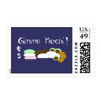 Gimme Mochi Sticky Rice Cake Postage Stamp