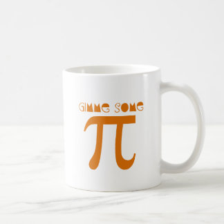 gimme pi tazas de café