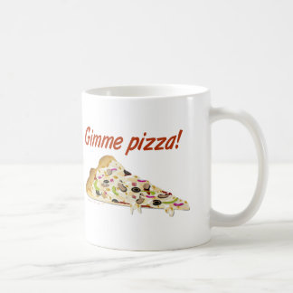 Gimme Pizza Pizza Lovers Mugs