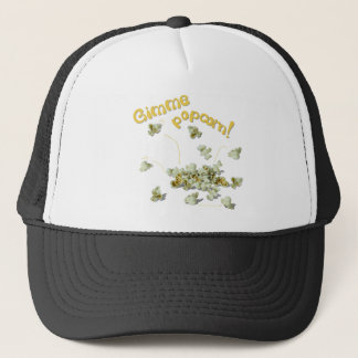 Gimme Popcorn  Popcorn Lover Truckers Hat