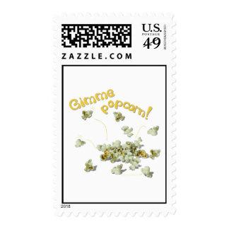 Gimme Popcorn Popcorn Lovers Postage Stamps