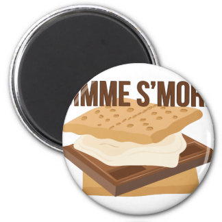 Gimme Smore 2 Inch Round Magnet