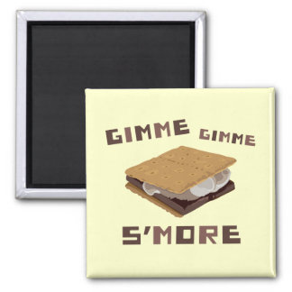 Gimme S'more 2 Inch Square Magnet