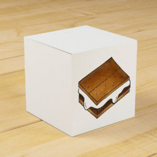 ¡Gimme S'more! Caja hecha en casa de la invitación Caja Para Regalo De Boda